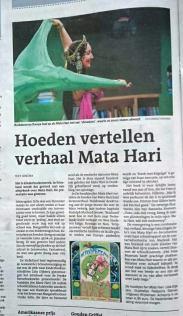 Leeuwarder Courant 'De hoedjes van Mata Hari'