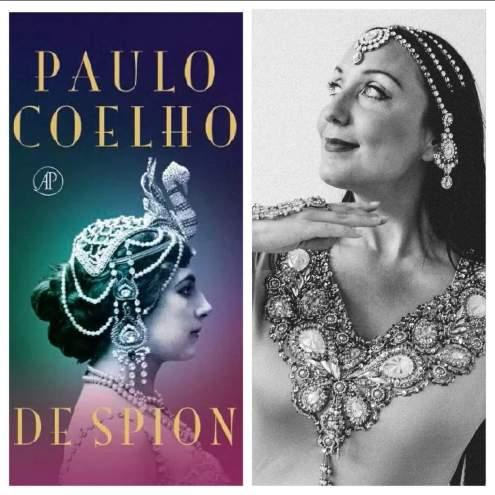 Raniya danst Mata Hari boekpresentatie Paulo Coelho 'De Spion'