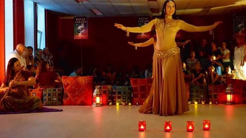 Raniya danst Mata Hari Haarlem Cultuur Festival