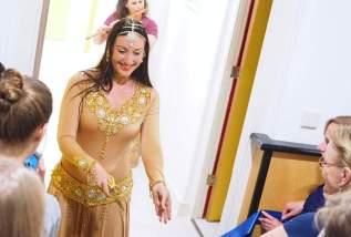 Raniya danst Mata Hari Opening 2