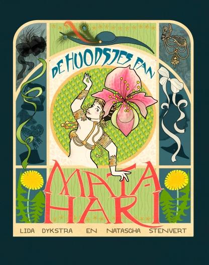 De hoedjes van Mata Hari Kinderboekenweek Cover