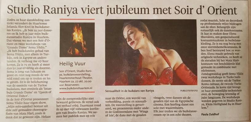 Haarlems Dagblad 2018