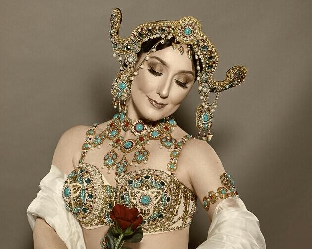 Mata-Hari 'De Prinses en de Magische Bloem' door Raniya